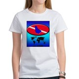 Barbados Dive Flag Tee