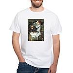 Ophelia & Cavalier (BT) White T-Shirt
