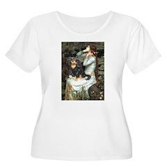 Ophelia & Cavalier (BT) Women's Plus Size Scoop Ne