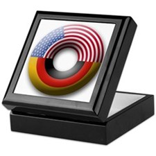 USA - Germany Keepsake Box