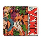 Fighting Yank #11 Mousepad