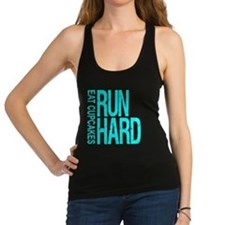 Run Hard Eat Cupcakes Racerback Tank Top