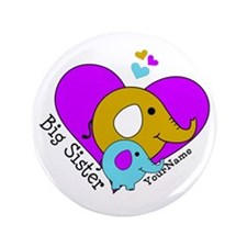 "Big Sister Elephant Persona 3.5"" Button (100 pack)"