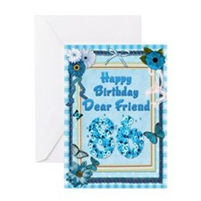 86th Birthday for a friend with a scrapbooking the