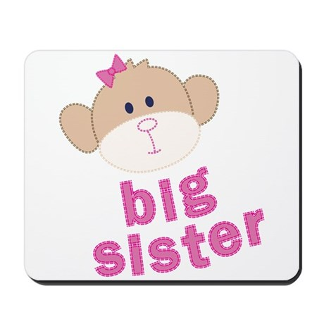 big sister monkey Mousepad
