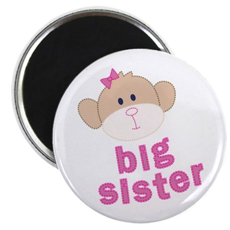 big sister monkey Magnet