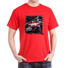 Captain America with Shield T-Shirt
