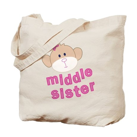 middle sister monkey Tote Bag