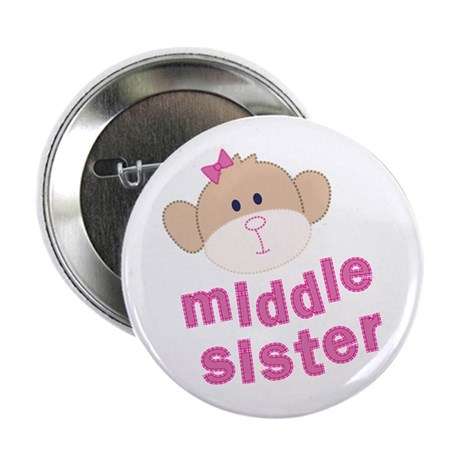 middle sister monkey Button