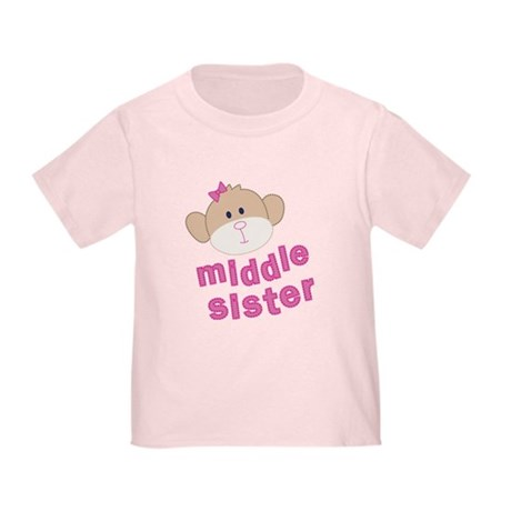 middle sister monkey Toddler T-Shirt