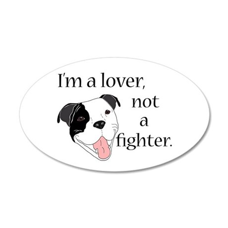 Pitbull Lover Wall Decal