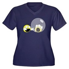Introvert Hamster Ball Women's Plus Size V-Neck Da