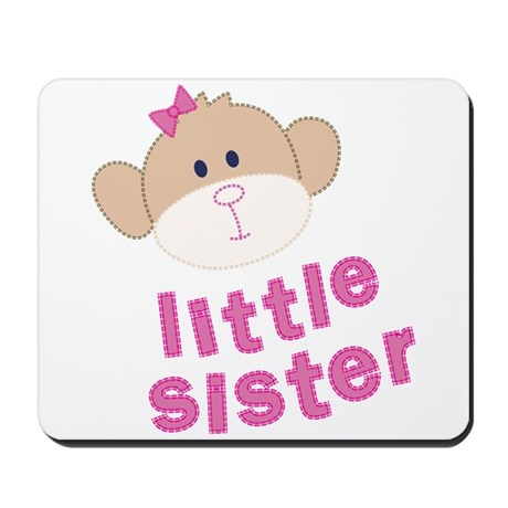little sister monkey Mousepad