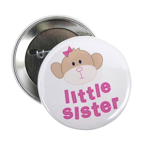 little sister monkey Button