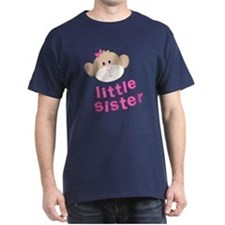 ADULT SIZES little sister monkey T-Shirt