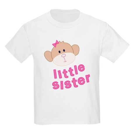 little sister monkey Kids Light T-Shirt