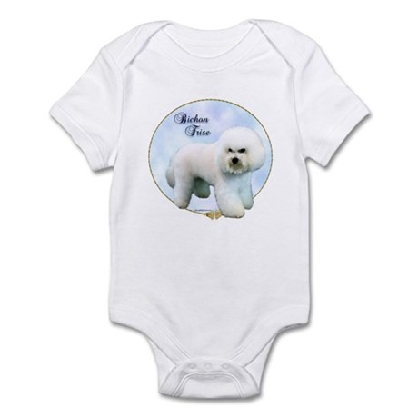Bichon Portrait Infant Bodysuit