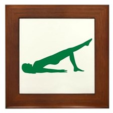 Pilates Framed Tile