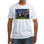 Starry Night Cavalier Fitted T-Shirt