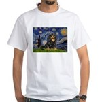 Starry Night Cavalier White T-Shirt