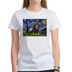 Starry Night Cavalier Women's T-Shirt