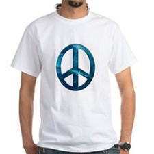 Turquoise Sculpted Stone Peace Shirt