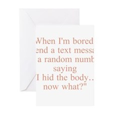 Boredom Greeting Cards
