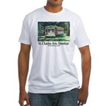 New Orleans Streetcar Fitted T-Shirt