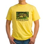 New Orleans Streetcar Yellow T-Shirt