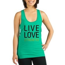 Live Love Cytogenetics Racerback Tank Top