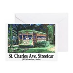 New Orleans Streetcar Greeting Cards (Pk of 10