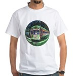 New Orleans Streetcar White T-shirt