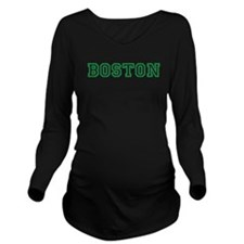 BOSTON Long Sleeve Maternity T-Shirt