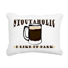 Stoutaholic - I Like It  Rectangular Canvas Pillow