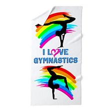 Gymnast Team Beach Towel
