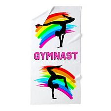 Stunning Gymnast Beach Towel