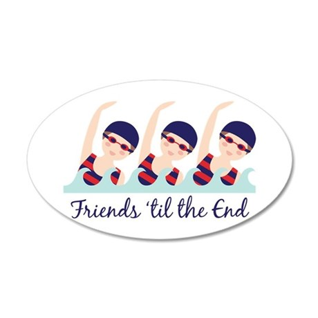 Friends til the End Wall Decal