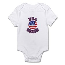 US SOCCER Infant Bodysuit