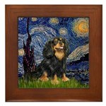 Starry Night Cavalier Framed Tile