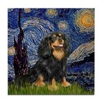 Starry Night Cavalier Tile Coaster