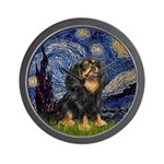 Starry Night Cavalier Wall Clock