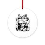 Big Apple Flight Pigeons Ornament (Round)