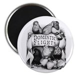 Big Apple Flight Pigeons Magnet