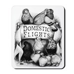 Big Apple Flight Pigeons Mousepad