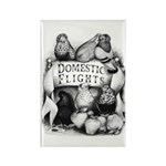 Big Apple Flight Pigeons Rectangle Magnet