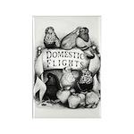 Big Apple Flight Pigeons Rectangle Magnet (100 pac