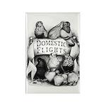 Big Apple Flight Pigeons Rectangle Magnet (10 pack