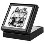 Big Apple Flight Pigeons Keepsake Box