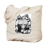Big Apple Flight Pigeons Tote Bag
