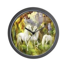Beautiful Unicorns Wall Clock
